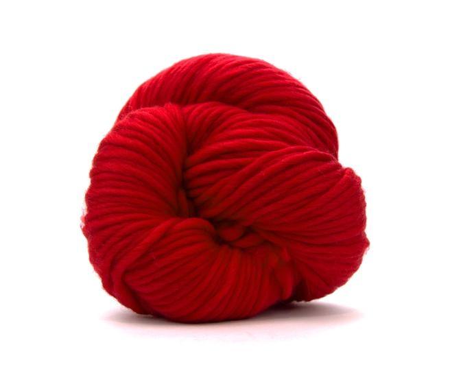 Fire super chunky lana Merino Scarlet 0