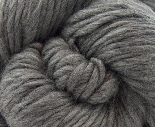 Fire super chunky lana Merino Grey 1
