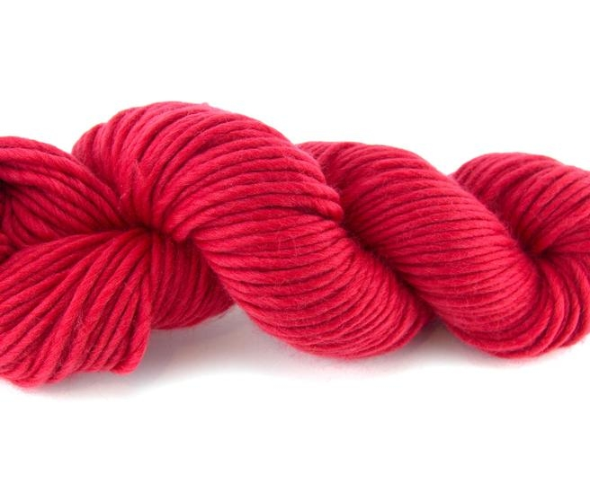 Fire super chunky lana Merino Poppy