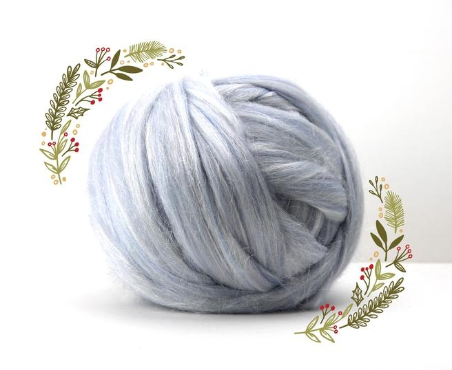 Fire Gigant lana Merino Christmas Blend Snow 0
