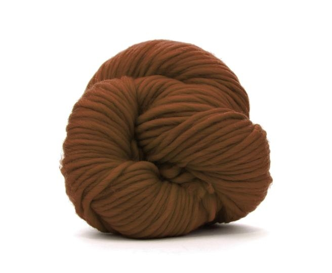 Fire super chunky lana Merino Chocolate 0
