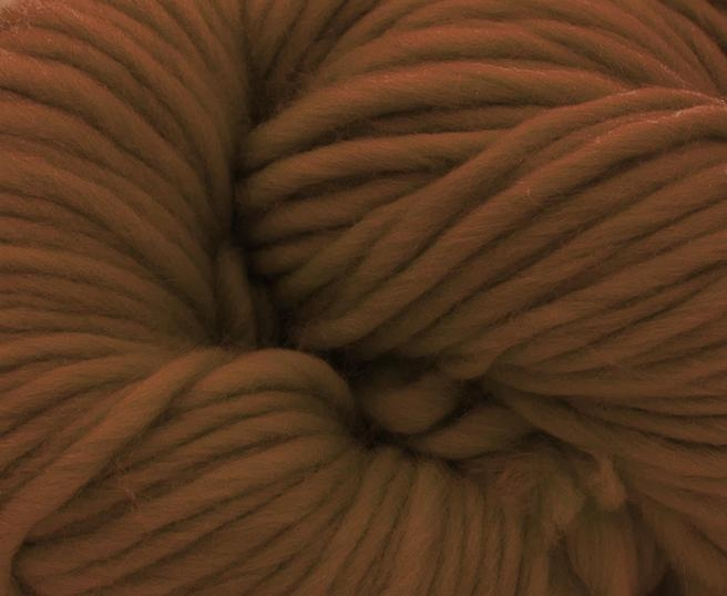 Fire super chunky lana Merino Chocolate 1