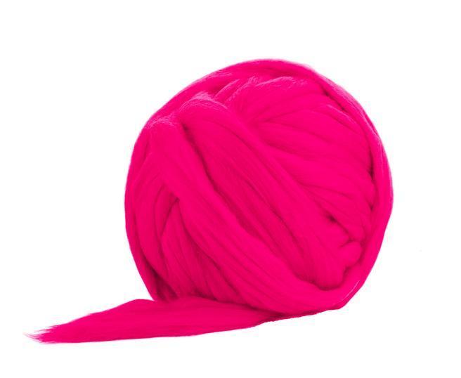 Fire Gigant lana Merino Hot Pink 0