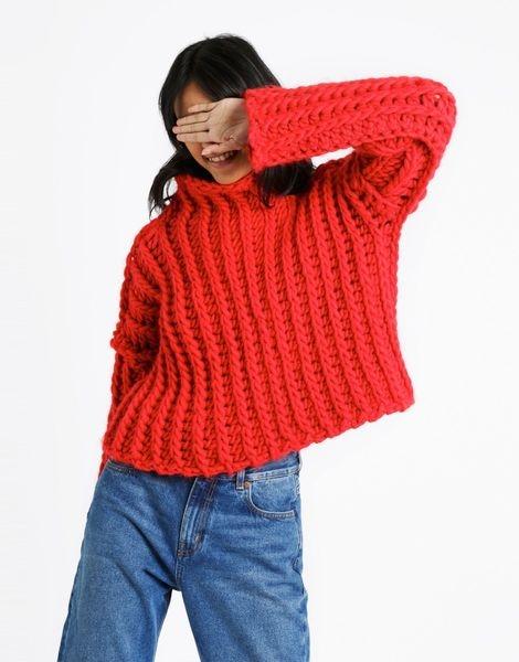 Kit tricotat Heart of Mine Jumper 4