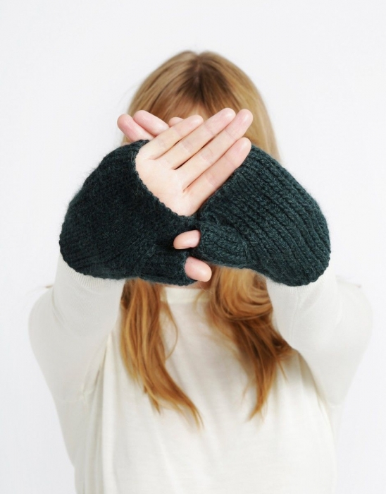 Kit tricotat manusi Full of Love Mittens 2