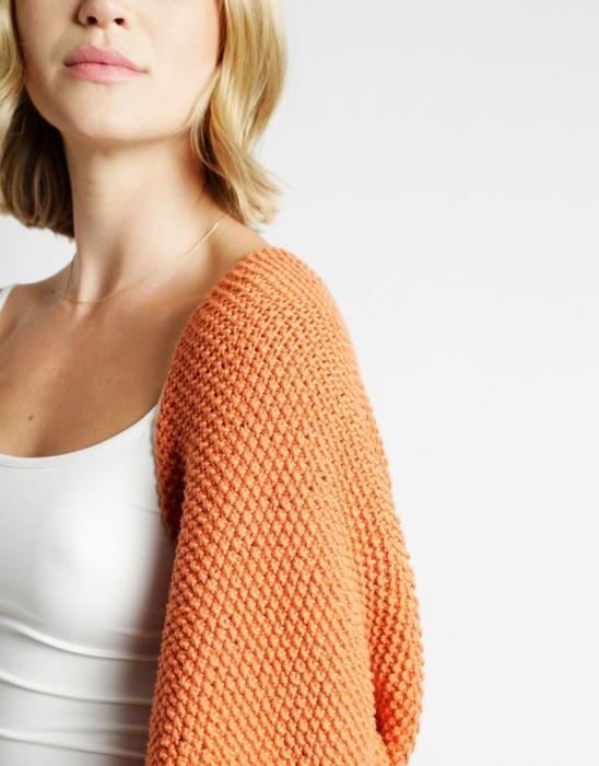 Kit tricotat sal cu maneci Riri