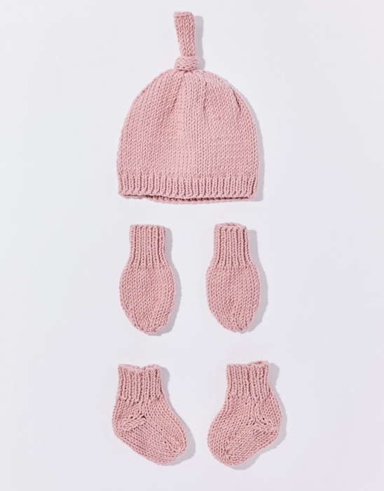 Kit tricotat Set Mia Baby 4