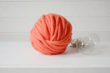Fir Super Gros Squiggly Orange 235gr